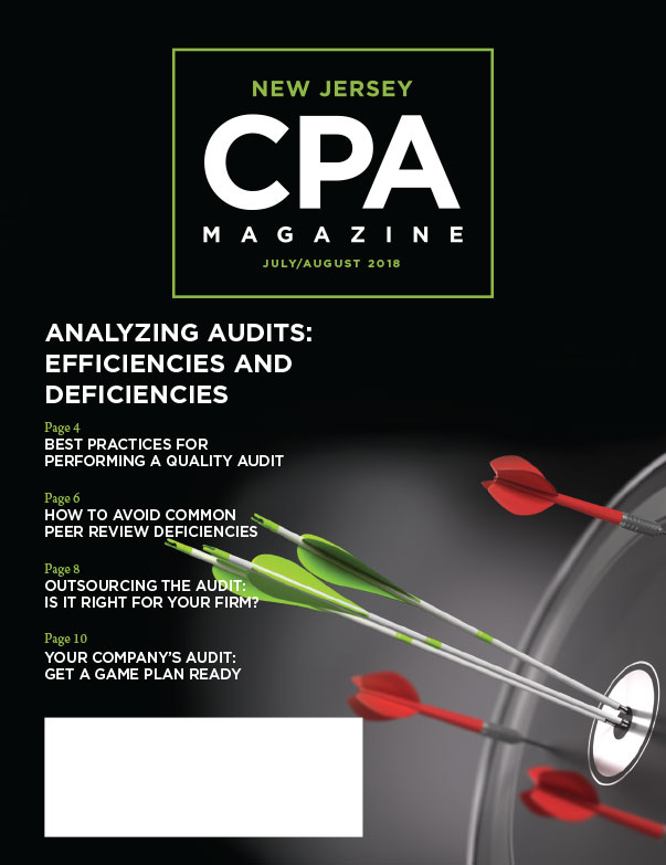July/August 2018 New Jersey CPA