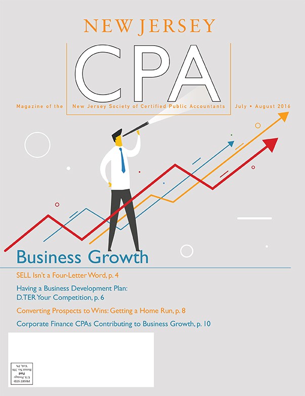 July/August 2016 New Jersey CPA