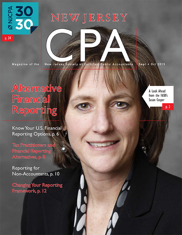 New Jersey CPA - September/October 2015